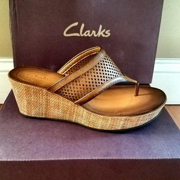 5f63ad32b8b Clarks Shoes - Brand New Clark s Wedges